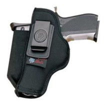 "DeSantis N87 IWB Holster, For S&W M&P 9/40, Springfield XD 4"", Pro Stealth, Black"