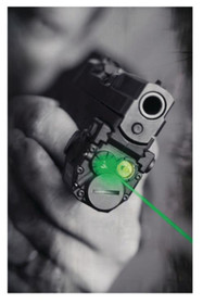 Viridian Sub-Compact Laser & Light Combo, 100 Lumens