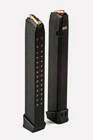 PWA For Glock 33 Rd Mag for G17/19/26/18, High Capacity
