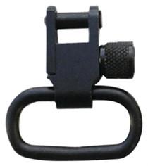 "GrovTec US, Inc. Grovtec Locking Sling Swivels, 1 1/4"", 1 Pair, Black"