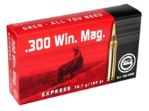 Geco .300 Win Mag 165gr, Expandable, 20rd/Box