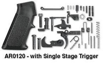 Rock River Arms AR-15 - Complete Lower Assembly Kit, Black, Single Stage Trigger