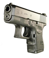 """Glock G33 Gen4 Double 357 Sig 3.42"""" Barrel, Black Interchangeable Backst, 9rd"""