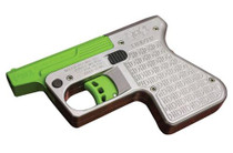 """Heizer PS1 Pocket Shotgun DAO .45LA/410 Ga 3.5"""" Barrel, SS/Green Barrel, 1rd"""