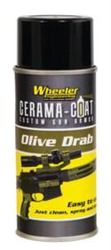 Wheeler Cerama-Coat Custom Gun Armor Firearm Coat 4oz Olive Drab