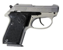 "Beretta Tomcat .32 ACP, 2.4"" Barrel, Inox Finish, 7rd Mag"