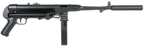"GSG MP-40 22LR, 17.2"" Barrel,, rds,  10 rd"