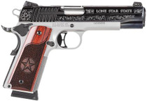 "SiG 1911, 45 ACP, 5"" Barrel, 8rd, Texas Silver Engraved"