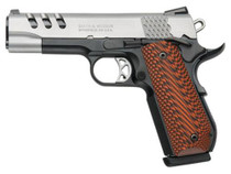 "Smith & Wesson 1911 Custom Performance Center45 ACP, 4.25"", Two-Tone Finish, G10 Custom Grip"