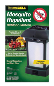 Thermacell Outdoor Lantern Eight Led Lights Operates On Four AA Batteries (Not Included)