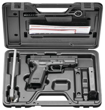 """Springfield XD Essential Package DAO 40S&W 4"""" Barrel, Poly Grip/Frame Black, 10rd"""