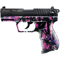 "Walther PK380 .380 ACP, 3.6"", 8rd, Muddy Girl Camo"