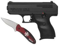 HiPoint C-9 Custom Combo-, Hardcase and Custom Kershaw Scallion Knife
