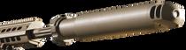 Barrett QDL M107 Sound Suppressor .50 BMG Suppressor, Flat Dark Earth Cerakote, Quick Detach