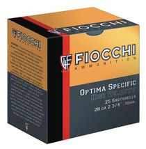 "Fiocchi High Velocity 28 Ga, 2.75"", 3/4oz, 7.5 Shot, 25rd/Box"