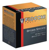 "Fiocchi High Velocity 28 Ga, 2.75"", 3/4oz, 7.5 Shot, 25rd/Box"