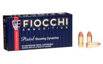 Fiocchi Shooting Dynamics 9mm, 115 Gr, Complete Metal Jacket, 50rd/box