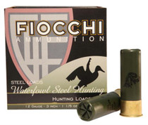"Fiocchi Shooting Dynamics 12 Ga, 3"", 1-1/5 oz, 2 Shot, 25rd/Box"