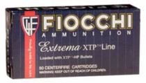 Fiocchi .380 ACP 90gr, XTP Hollow Point, 25rd/Box
