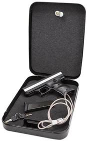 "Hi-Point Home Security Pack 380ACP Gun 3.5"" Barrel, Black Poly, Lock Box, 8rd"