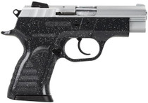 "EAA Witness Pavona Poly Cmpt DA/SA 9mm 3.6"" Barrel, Ergo Grip Charcoal/Silver, 13rd"