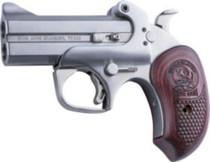 """Bond Arms Snake Slayer .45 Colt/410 3.5"""" Barrel SS Finish Extended Rosewood Grips 2 Shot"""