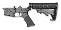 Rock River Arms Complete Lower Half, AR-15 Two Stage Trigger, CAR Stock 5.56/223, Multi