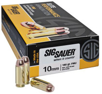 Sig Ammo 10mm 180Gr Elite Ball FMJ 50rd Box