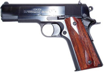 "Colt 1991 Series Commander 45 ACP 4.25"" Barrel, Rosewood Grip Blued, 7rd"