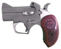 """Bond Arms Brown Bear CA Comp Derringer Break Open 45LC 3"""" Rosewd SS"""