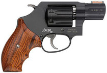 "Smith & Wesson 351 PD 22 Magnum 1.9"" Barrel Wood Grip Matte Black 7rd"