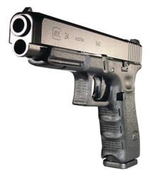 "Glock G34 9mm 5.32"" Barrel Black Adjustable Sights 10rd Mag"
