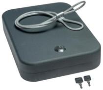 """SnapSafe Lock Box Extra-Large Keyed. 10 x 7 x 2"""""""