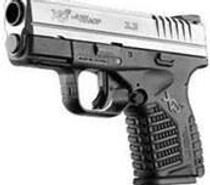 Springfield XDS 45 ACP Compact, 2 Tone, Single Stack