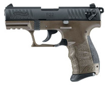 "Walther P22 Military Pistol, 3.42"", OD Green"