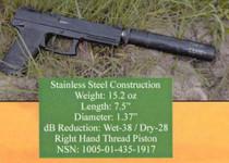 Knight's Armament 762QDC/CQB Suppressor 30179, Black