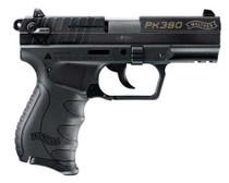 "Walther PK380 .380 ACP, 3.6"" Barrel Black, 8 Round, 1 Mag"
