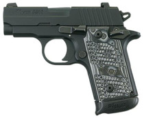Sig P238 380 ACP 2.7In Extreme Black SAO Siglite Black/Gray G10 Grip (1) 7RD Steel MAG