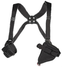 """Bianchi Tuxedo Shoulder Holster 4620 Fits up to 48"""" Chest Black Accumold"""