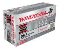 Winchester Clean 357 Rem Mag Jacketed Soft Point 125gr, 50Box/10Case