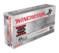 Winchester Ammo Super X 45 GAP Silvertip HP 185gr, 50Box/10Case