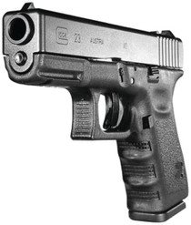 "Glock G23 Standard Double 40 S&W, 4.01"" Barrel, Black Po, 10rd"