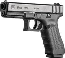 "Glock G37 Gen4 .45 GAP, 4.6"" Barrel, Black, Fixed Sights, 10rd"