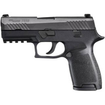 "Sig P320 9mm, 3.9"", Rail, Nitron Black, Striker, Contrast Sights, Modular Grip, 2x15rd Mags"