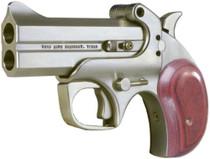 "Bond Arms Century 2000 410/45LC 3.5"" 2rd Lam Rosewood Grip Satin SS"