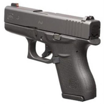 "Glock G43 Gen3 9mm 3"" Barrel, Front Night Sight, 6 Rd Mag"