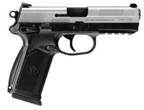 "FN FNX-45 USG 45 ACP 4.5"" Two Tone, Combat Sights, 15 Round"