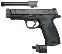 "Smith & Wesson M&P45 Threaded 2Barrel Kit 45 ACP 4.5"" Barrel Plus Extra Threaded Barrel 10rd Mag"