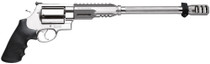 """Smith & Wesson 460XVR Performance Center .460SW 14"""" Fluted Barrel, Glassbead Finish, Picatinny-Style Rail, Bipod"""