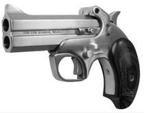 "Bond Arms Texas Defender 357 RemMag 3"" 2rd Lam Rosewood Grip Satin SS"